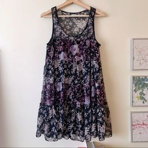 Kimchi Blue Tiered Floral Dress